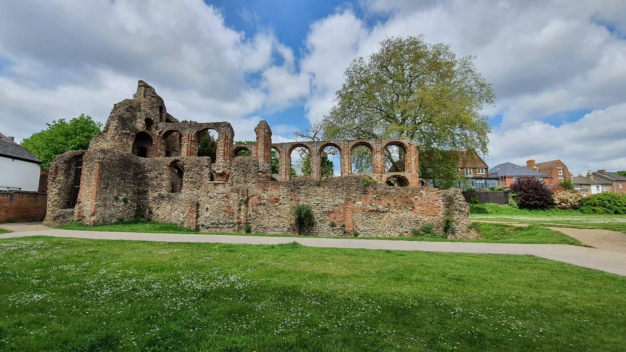 St Botolph's Priory ruins Colchester